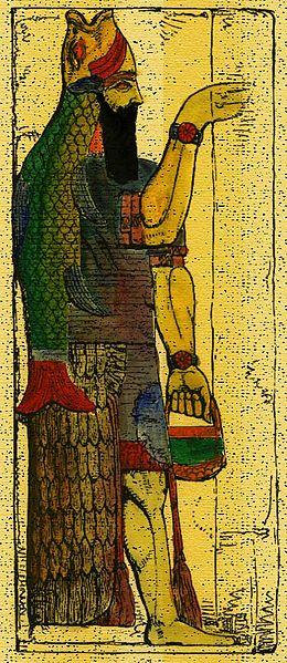 El Misterio de los Dioses Peces, Ea y el Nombre secreto de Yahveh