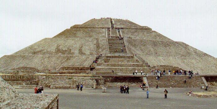 Piramide del Sol Teotihuacan
