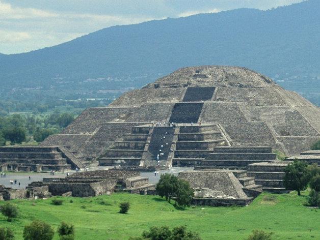 teotihuacan PIRAMIDE DEL SOL Excelsior