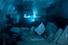 Cueva subacuática de Orda entorno extremo