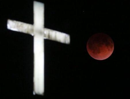 Luna de sangre Wisconsin 2014