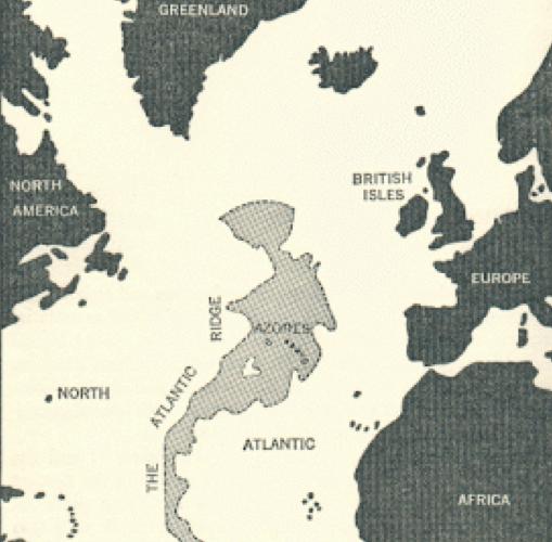 Atlantida mapa centro Atlantico