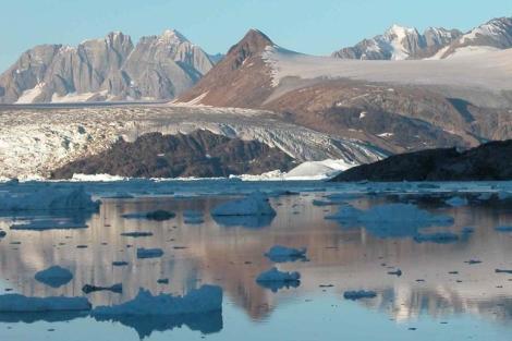Deshielo de glaciares en Groenlandia. | El Mundo