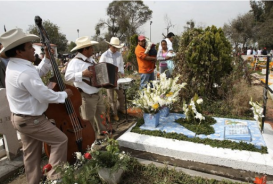 2 de noviembre cementerio Iztapalapa, mexico EFE:ALEX CRUZ