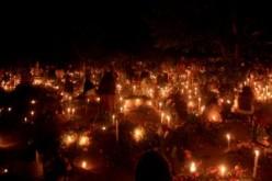 Dia de muertos en el panteon