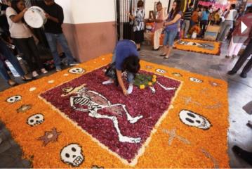 Ofrenda dia de muertos Veracruz Mexico EL UNIVERSAL RCC
