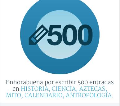 500 POSTS EN ESTE BLOG