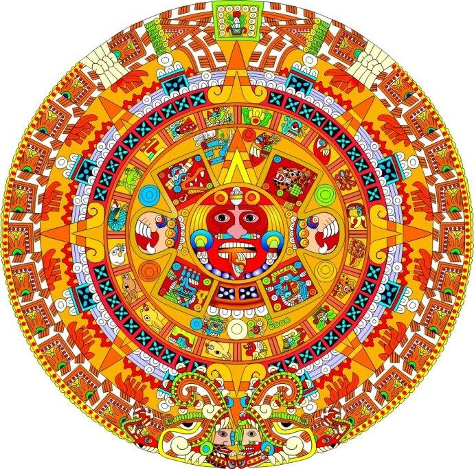 004-piedra-del-sol-calendario-colorado-rojo-naranja-amarillo