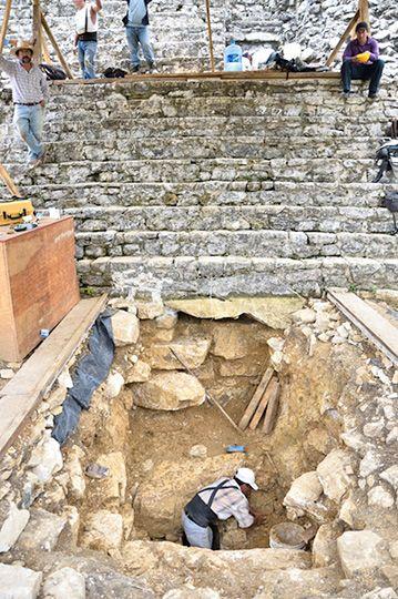 Pakal tumba 2016 excavacion
