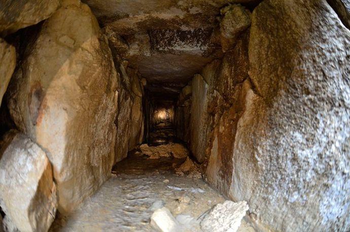 Palenque abajo del Templo de las Inscrpciones