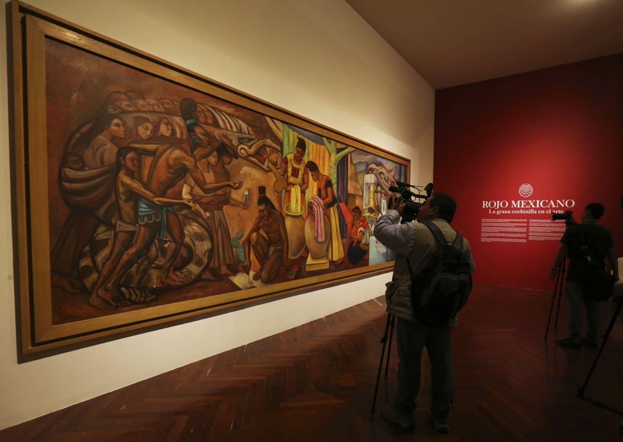 ROJO MEXICANO, EN EL ARTE