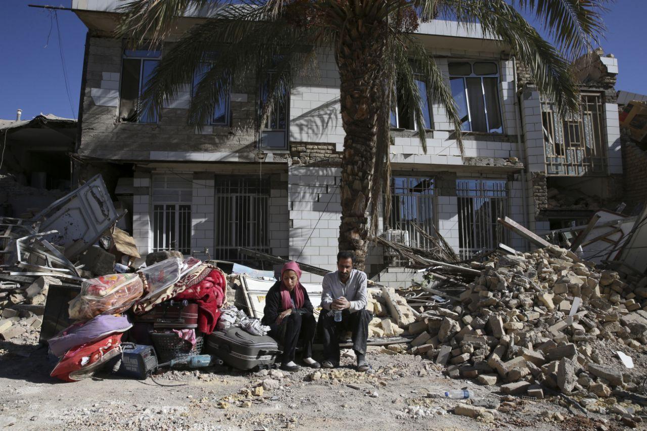 El devastador terremoto de Irán
