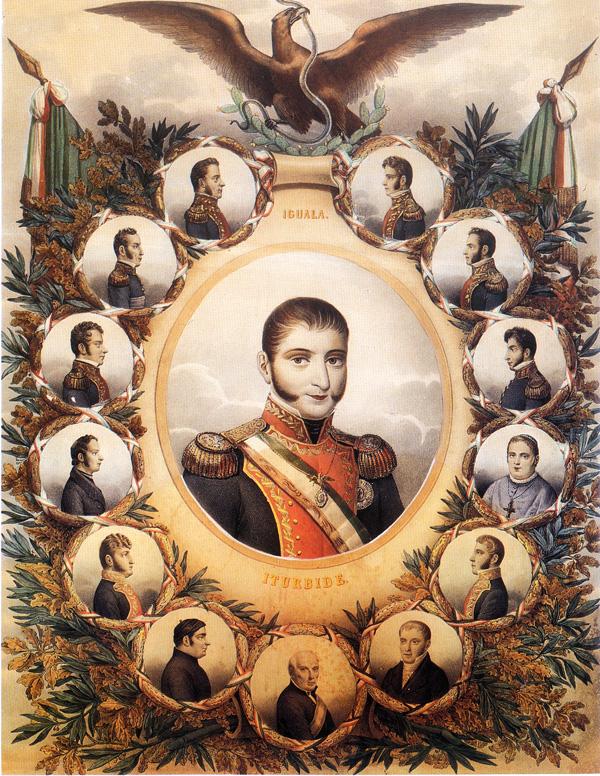 Agustín de Iturbide, Libertador y Emperador de México.